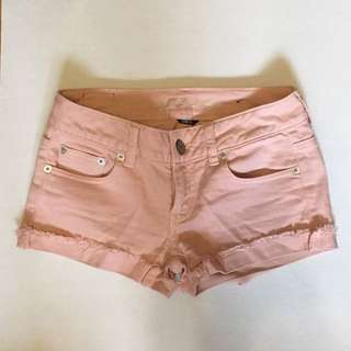 American Eagle Pink Shorts (size 00)