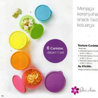 texture canister tupperware 375 disk 240
