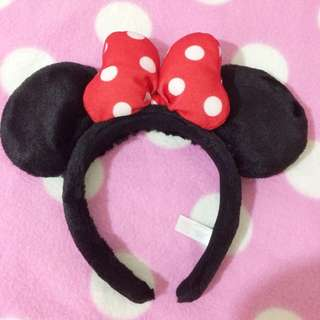 東京迪士尼購入 米妮頭飾 Disney/ディズニー/ミニー/Minnie