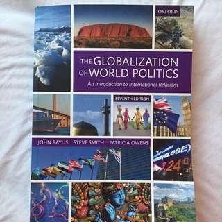 The Globalisation Of World Politics 7th Ed