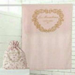 <全新現貨>Laduree 經典柔情浴巾組(浴巾+束口袋)