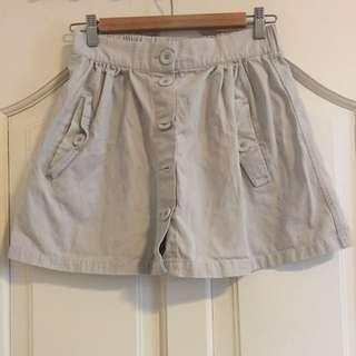 Cotton On Khaki Skirt Aus 10