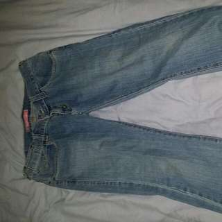 Levis 504 Straight Jeans Size 10-12