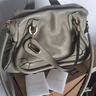 Chloe Paraty Nude/eggshell Perfect Condition