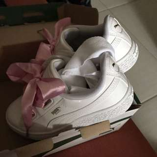 Puma 童緞帶鞋 🎀