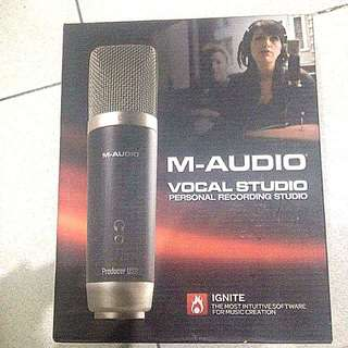 M-AUDIO producer USB Vocal Studio microphone