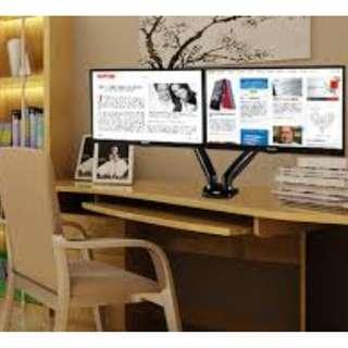 Double Monitor display desk VESA mount NB F160