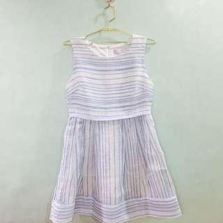Cache Cache Striped Dress