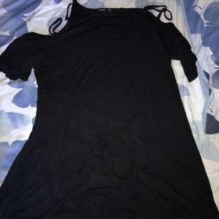 Boohoo Black Dress