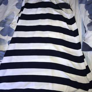 Kmart Blue Striped Dress