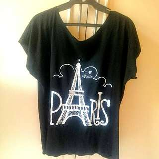 Plus Size: Casual Paris Top