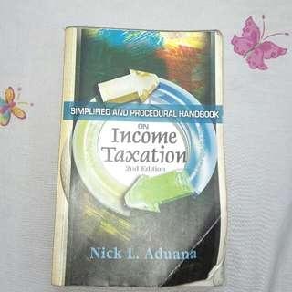 Income Taxation By Nick Aduana