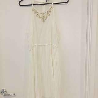 Forever New White Dress SiZe 12