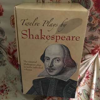 Twelve Plays Of Shakespeare 莎士比亞 名劇