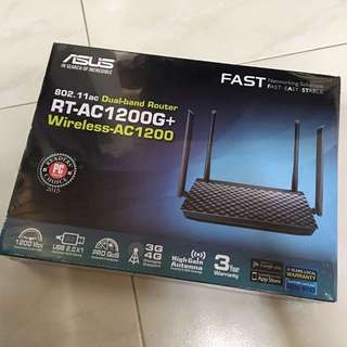 Asus RT-AC 1200G+ Wireless Dual Band Router