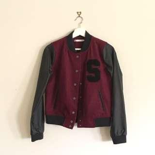 STUSSY Bomber Jacket Size 8