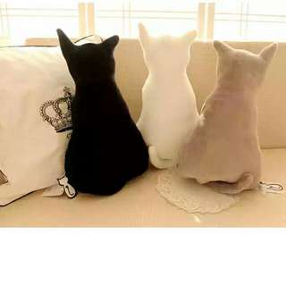 [全新]日本限量發售 萌萌立體猫咪抱枕