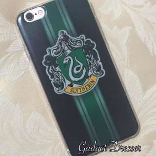 Harry Potter House Crest Iphone Case Gryffindor Ravenclaw Slytherin Hufflepuff