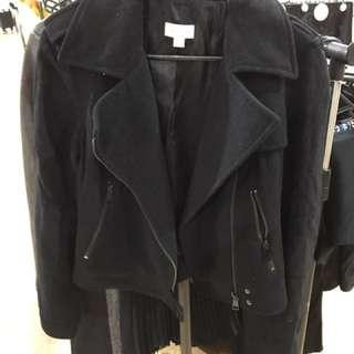 Witchery Biker Style Wool Jacket