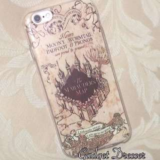 Harry Pottrt Marauders Map Iphone Case
