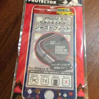 Snoopy Screen Protector For iPhone 6 6s