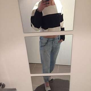 Sportsgirl Denim Light Blue Boyfriend Style Jeans