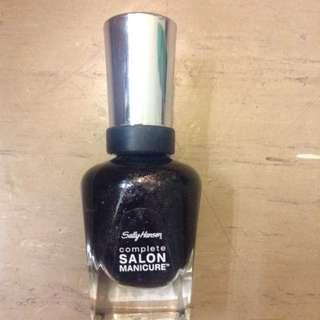Sally Hansen Nail Polish Shade 670 Midnight In NY