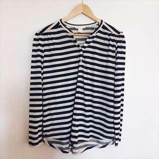 H&M Stripes Polo