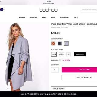 Wool Look Jacket