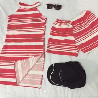 Terno Pink Stripes