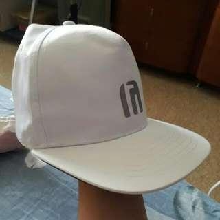 NET 棒球帽(白)