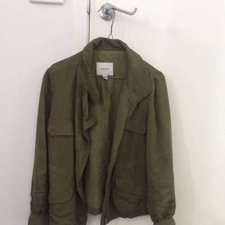 Country Road Jacket Khaki Green Size XS