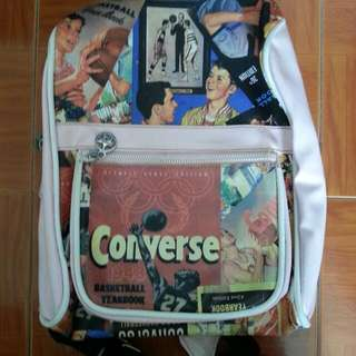 Antique Converse Backpack