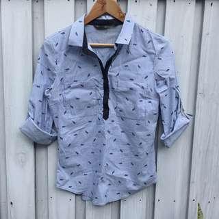 Zara Cotton Shirt, Size M