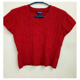 Limited Too Red Knitted Top