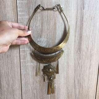 Bangle Ethnic Necklace
