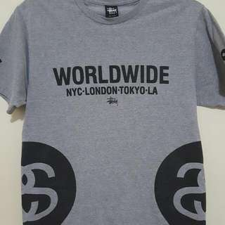 Stussy Worldwide T-Shirt Size Medium