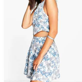 Blue Floral Co-ord