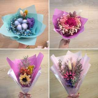 SiS Flower手綁乾燥花束💐