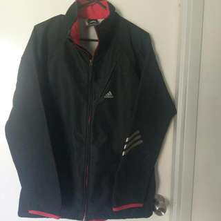Adidas Black With Red Trim Jacket Size 12