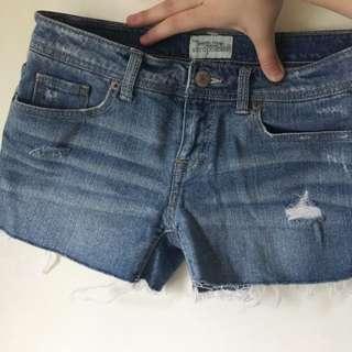 Aeropostale Shorts Jeans短褲