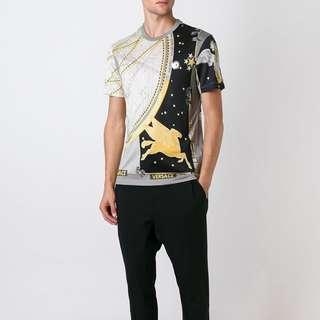BN XS Versace Astrological Print T Shirt