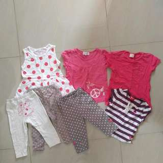 Preloved Baby Clothes (Free Delivery For WM)
