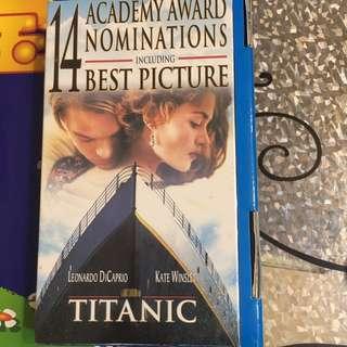 Titanic VHS Tape