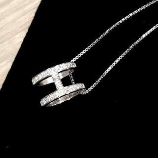 S925純銀鋯石項鍊