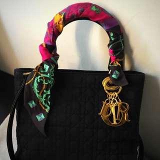 💯🈹⬇️📢💋‼️激減‼️罕有超靚 Lady Dior Bag Most Hot Medium Size 輕身襟用防水質料手袋