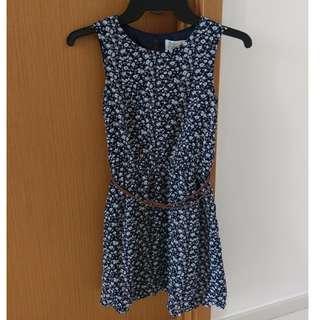 Padini Girl Dress, Navy (8-9 yo)