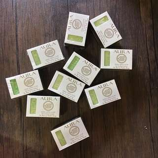 10 For The Price Of 6!!! AURA Swiss Apple Soap
