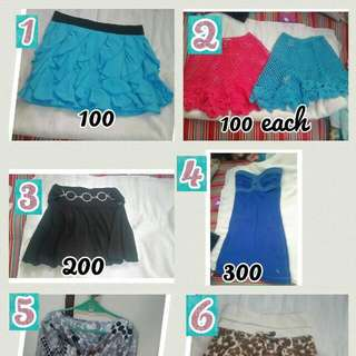 Girls Size Xs Skirts, Blouses And Dreas