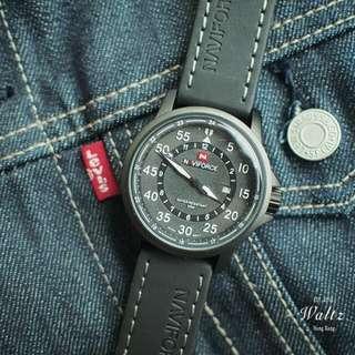 Naviforce 軍裝霧面手錶